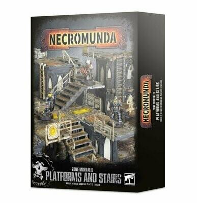 Necromunda: Plattformen und Treppen der Zone Mortalis - Games Workshop