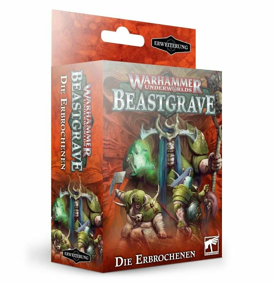Warhammer Underworlds: Die Erbrochenen / The Wurmspat [Putrid Blightkings] DEUTSCH - Warhammer Underworlds - Games Workshop