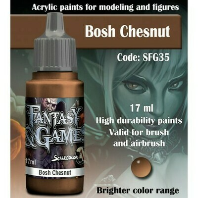 BOSH CHESNUT - Scalecolor - Scale75