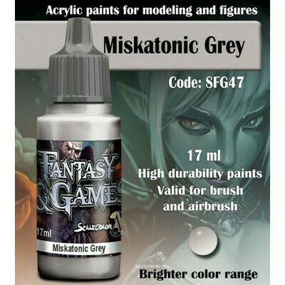 MISKATONIC GREY - Scalecolor - Scale75
