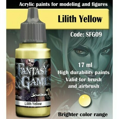 LILITH YELLOW - Scalecolor - Scale75