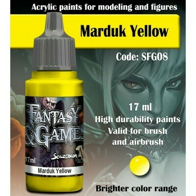 MARDUK YELLOW - Scalecolor - Scale75