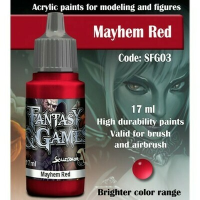 MAYHEM RED - Scalecolor - Scale75