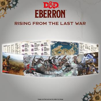 D&D Dungeons&Dragons - Rising from the last war - Eberron DM Screen