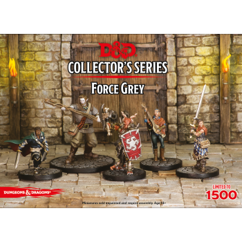 D&D Dungeons&Dragons - Collector's Series Miniatures - Force Grey - EN