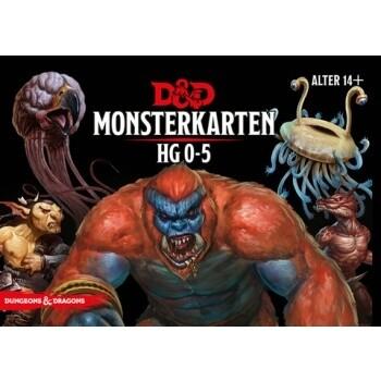 Dungeons & Dragons - Monsterkarten 0-5 - DE