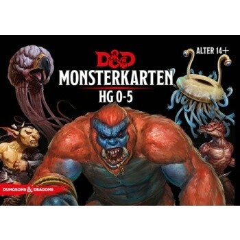 Dungeons & Dragons - Monsterkarten 0-5 - DE
