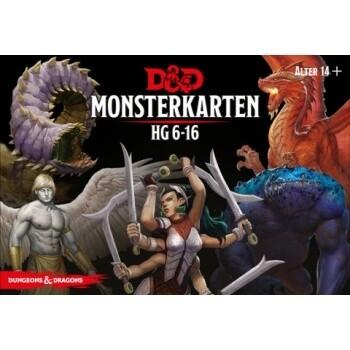 Dungeons & Dragons - Monsterkarten 6-16 - DE