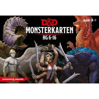 Dungeons & Dragons - Monsterkarten 6-16 - DE