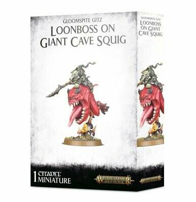 Loonboss auf Giant Cave Squig - Gloomspite Gitz - Warhammer Age of Sigmar - Games Workshop