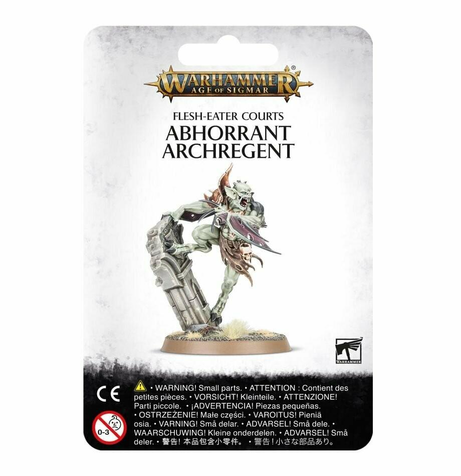 Abhorrant Archregent - Flesh-Eater Courts - Warhammer Age of Sigmar Skirmish - Games Workshop