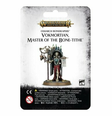 Vokmortian, Master of the Bone-tithe - Ossiarch Bonereapers - Warhammer Age of Sigmar - Games Workshop