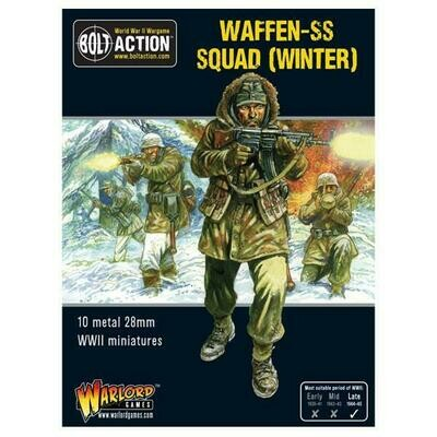 Winter Waffen SS squad box - Bolt Action - Warlord Games