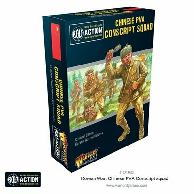 Korean War: Chinese PVA Conscript Squad - Korean - Bolt Action