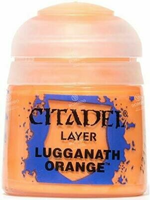 LAYER: LUGGANATH ORANGE (12ML) - Citadel Layer - Games Workshop