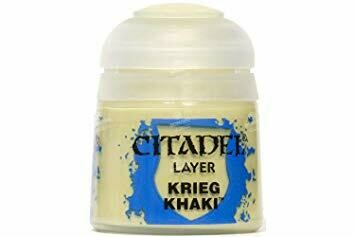 LAYER: KRIEG KHAKI (12ML) - Citadel Layer - Games Workshop