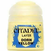 LAYER: DORN YELLOW (12ML) - Citadel Layer - Games Workshop
