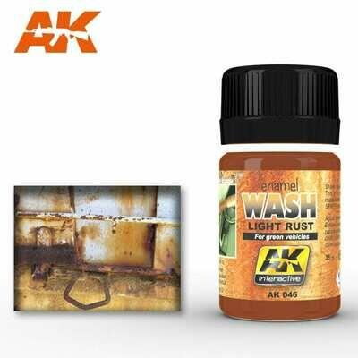 light rust wash (Enamel-Farbe) - AK Interactive