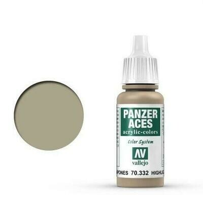 032 Highlight Japanese Tankcrew 17 ml - Panzer Aces - Vallejo