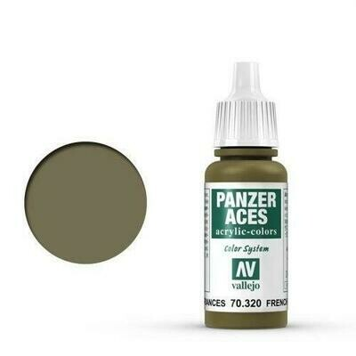 020 French Tankcrew 17 ml - Panzer Aces - Vallejo