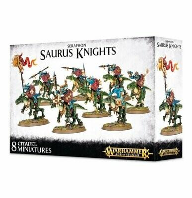 Saurus Knights - Seraphon - Warhammer 40.000 - Games Workshop