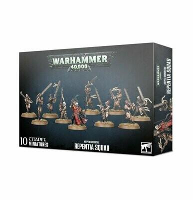 Repentia Squad - Adepta Sororitas - Warhammer 40.000 - Games Workshop
