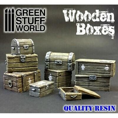 Wooden boxes set - Greenstuff World