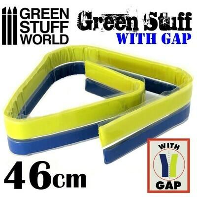 Green Stuff Tape 18 inches WITH GAP - Greenstuff World