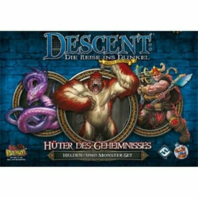 Descent 2. Edition: • Hüter des Geheimnisses: Helden- und Monster-Set