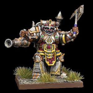 Dwarf Support Pack Steel Juggernaut - Dwarfs Zwerge - Kings of War Vanguard - Mantic Games