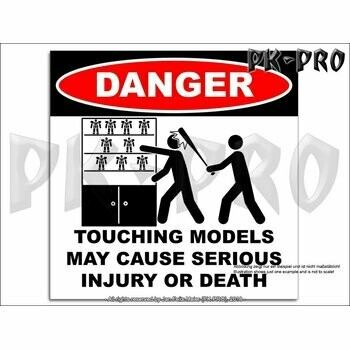 Aufkleber-DANGER-Touching-Models-May-Cause-Serious-Injury-or-Death - Pk-Pro