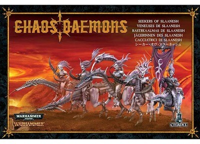 MO: Jägerinnen des Slaanesh Seekers  - DAEMONS OF SLAANESH - Warhammer Age of Sigmar - Games Workshop
