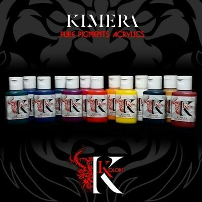 Kimera Kolors Pure Pigments – Colors-Set-(14x30mL)