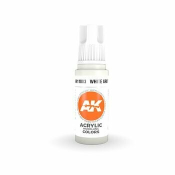 White Grey-(3rd-Generation)-(17mL) - AK Interactive