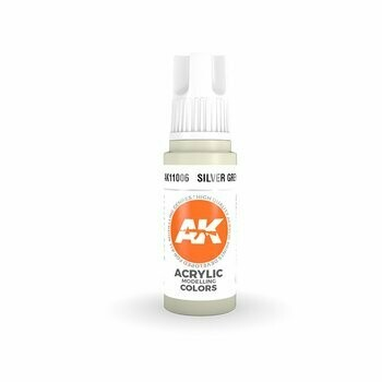 Silver Grey-(3rd-Generation)-(17mL) - AK Interactive