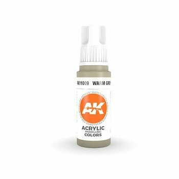 Warm Grey-(3rd-Generation)-(17mL) - AK Interactive