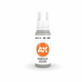 Sky Grey-(3rd-Generation)-(17mL) - AK Interactive