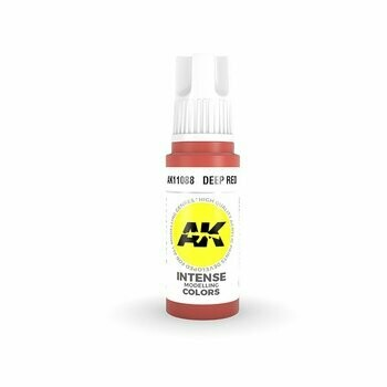 Deep Red Intense -(3rd-Generation)-(17mL) - AK Interactive