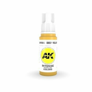 Deep Yellow Intense -(3rd-Generation)-(17mL) - AK Interactive