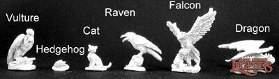 Familiar Pack VIII - Reaper Miniatures
