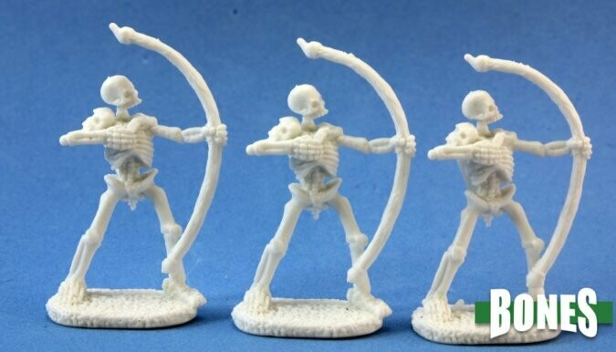 Skeletal Archer (3) - Reaper Bones