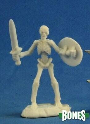 Skeleton Warrior Sword (3) - Bones - Reaper Miniatures