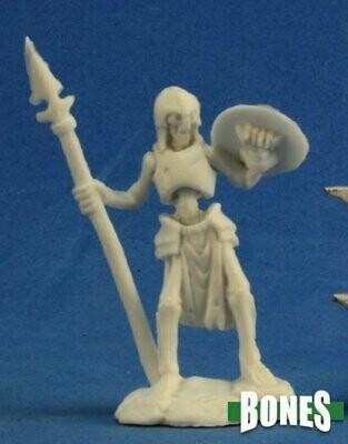 Skeleton Guardian Spearman (3) - Bones - Reaper Miniatures