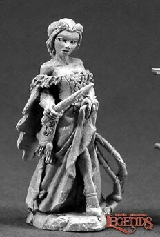 Hannah Blackruby, Female Wizard - Reaper Miniatures
