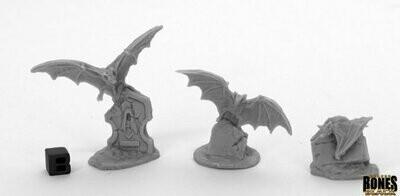 Giant Bats (3) - Bones - Reaper Miniatures