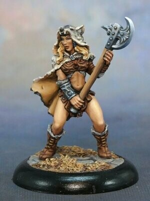 Kyrie, Female Barbarian - Reaper Miniatures