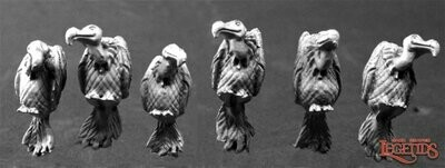 Vultures (6) Geier - Reaper Miniatures