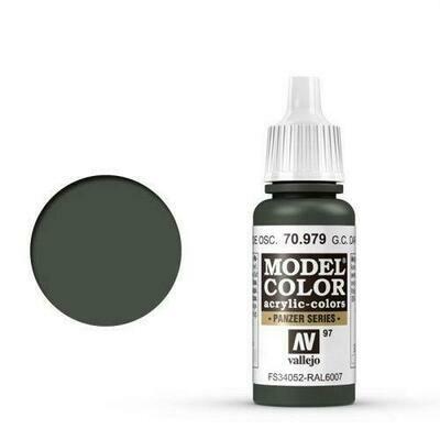 German Cam. Dark Green Model Color - Vallejo - Farben
