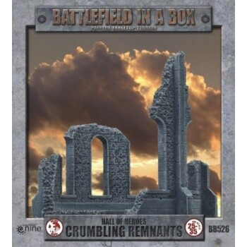 Battlefield In A Box - Gothic Battlefields - Crumbling Remnants (x2) - 30mm