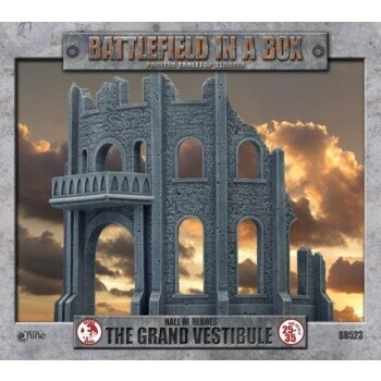 Battlefield In A Box - Gothic Battlefields - The Grand Vestibule (x1) 30mm